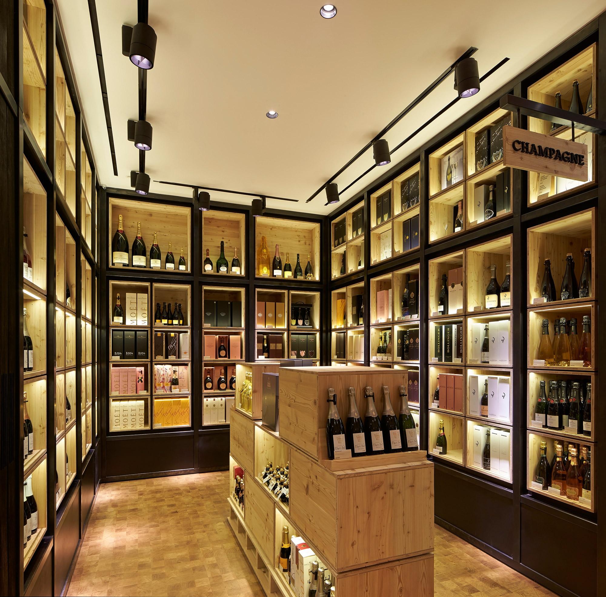 9ba7a9978d74 Campaign Selfridges Wine Shop ∏Hufton+Crow 013w