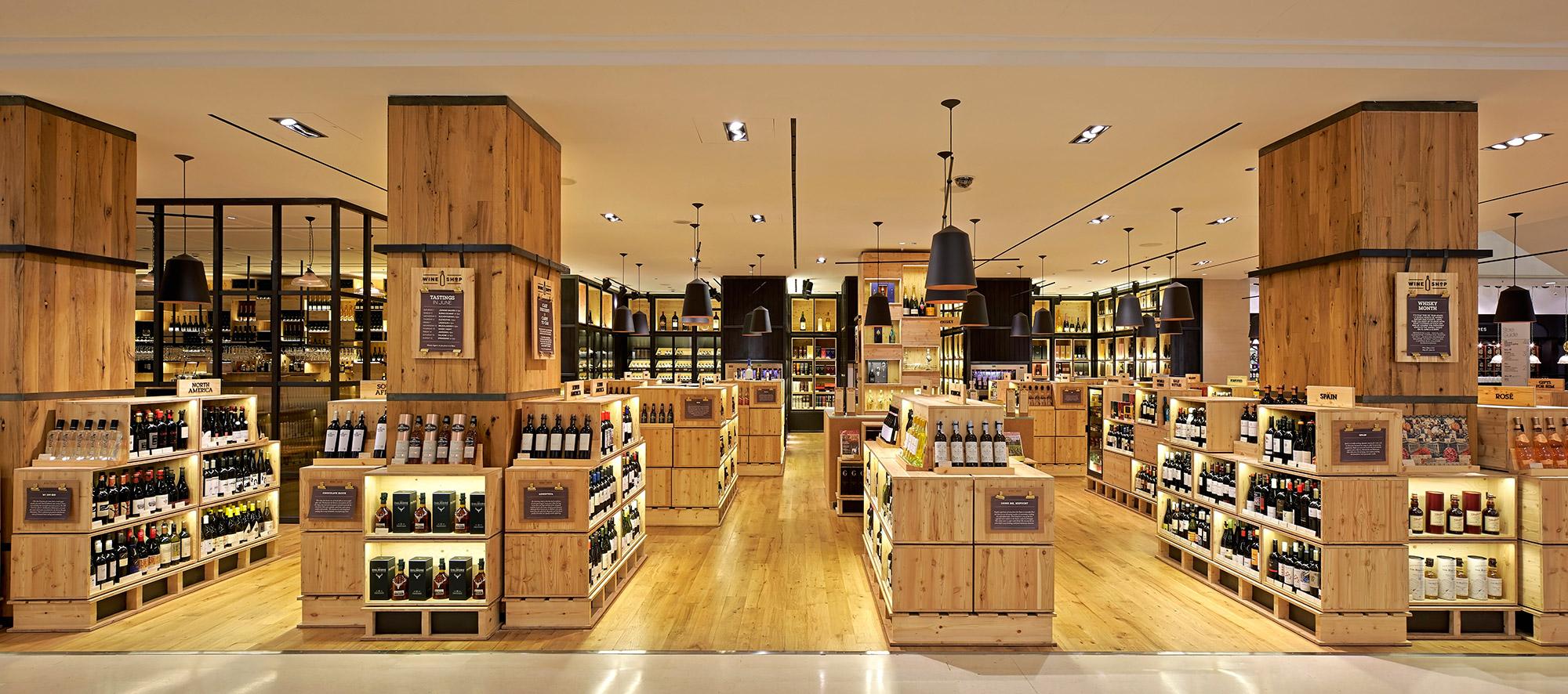 Wine Shop Selfridges Sunbeam Group