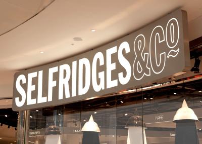 Selfridges Signage
