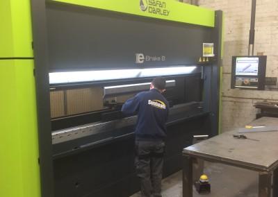 Sunbeam Metal Works - Brake Press
